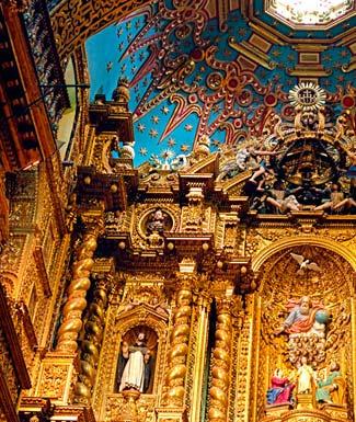 Interior Iglesia Centro HIstorico