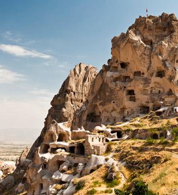 Cave houses in Cappadocia
