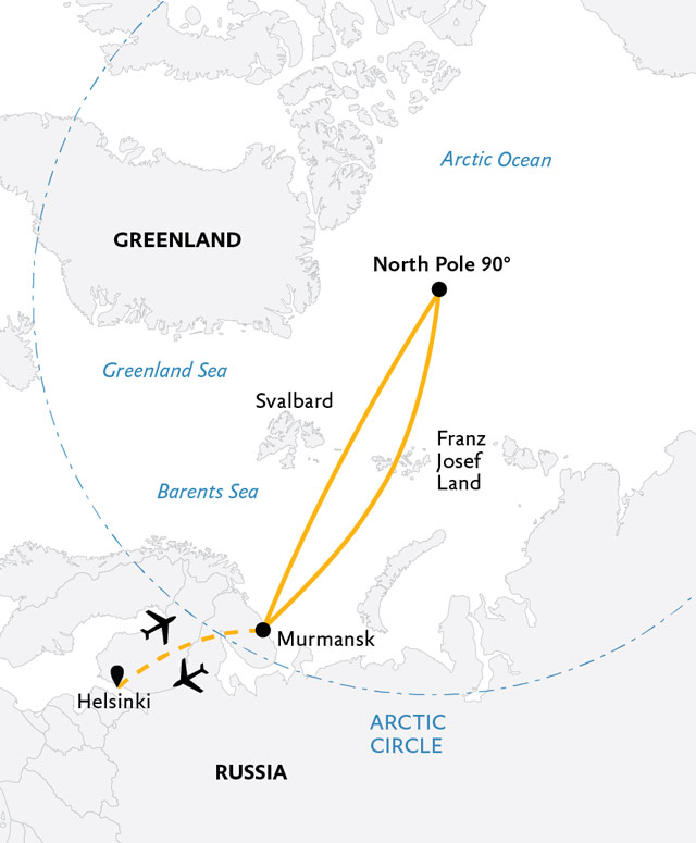 Expedition To The North Pole Tour For Over 45s | With Martin