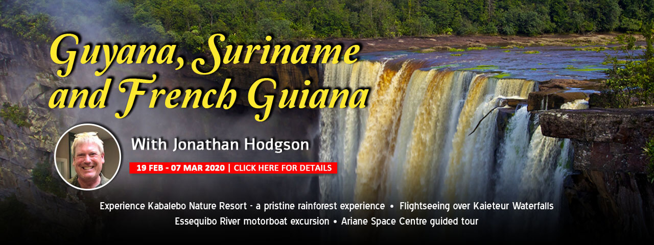 Guyana, Suriname & French guiana