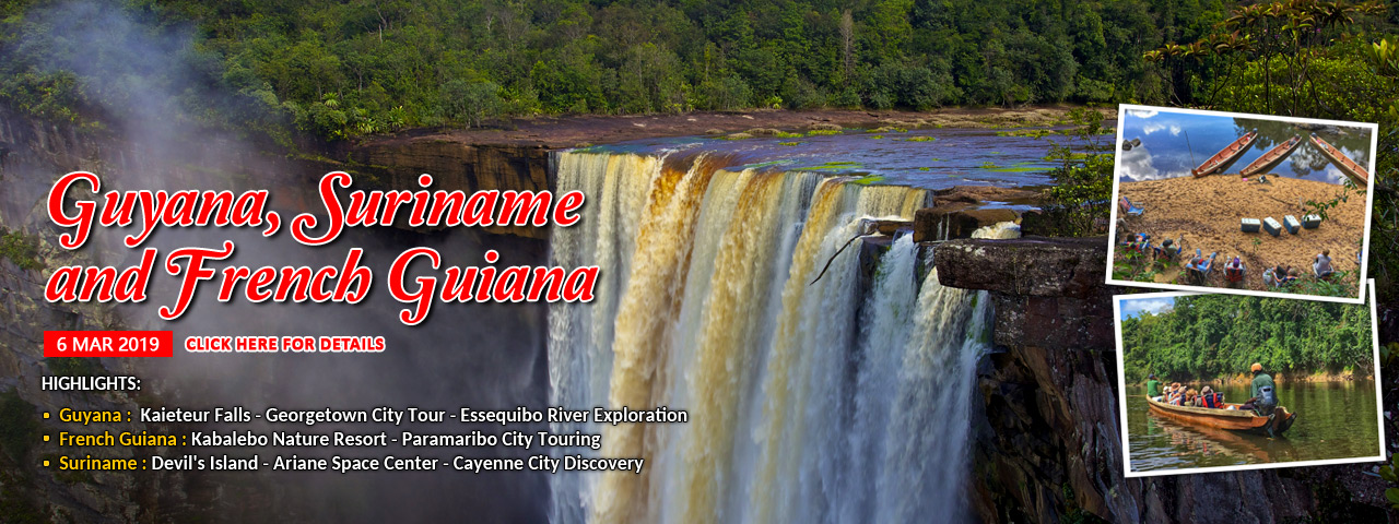 Guyana, Suriname and French Guiana