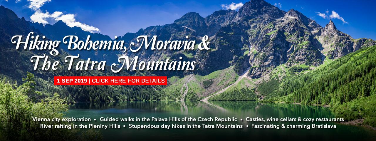 Hiking Bohemia, Moravia & The Tatras